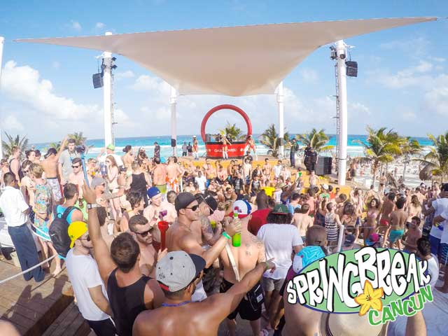 Spring Break Cancun Oasis Day Parties
